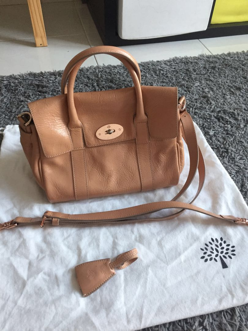 631b4cc347 Mulberry Bayswater Rosewater Two Way Bag