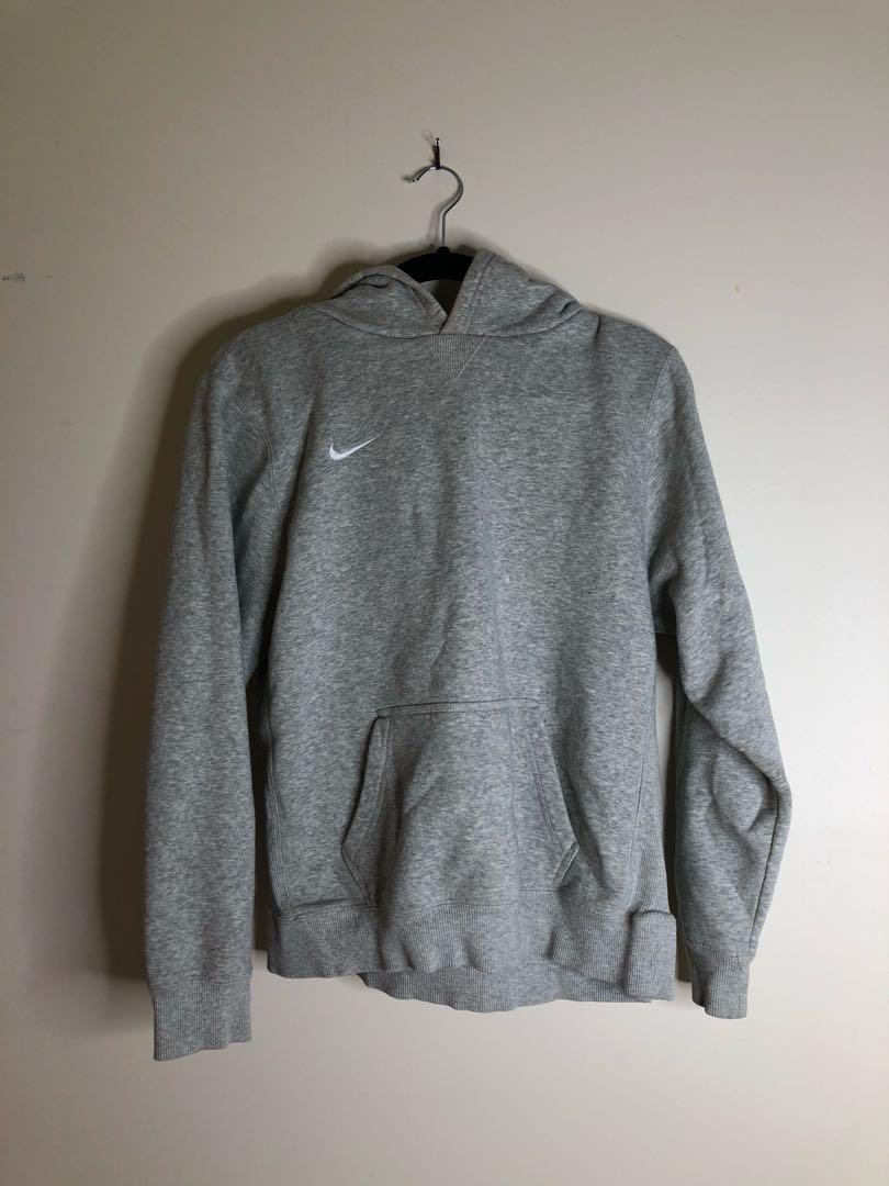 NIKE Grey Hoodie Size XL Kids (Roughly a Small in adults)