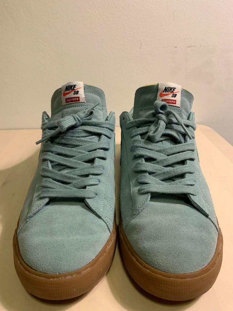 uk availability 6ccb4 a9b79 Nike SB Blazer Low X Supreme, Men's Fashion, Footwear ...