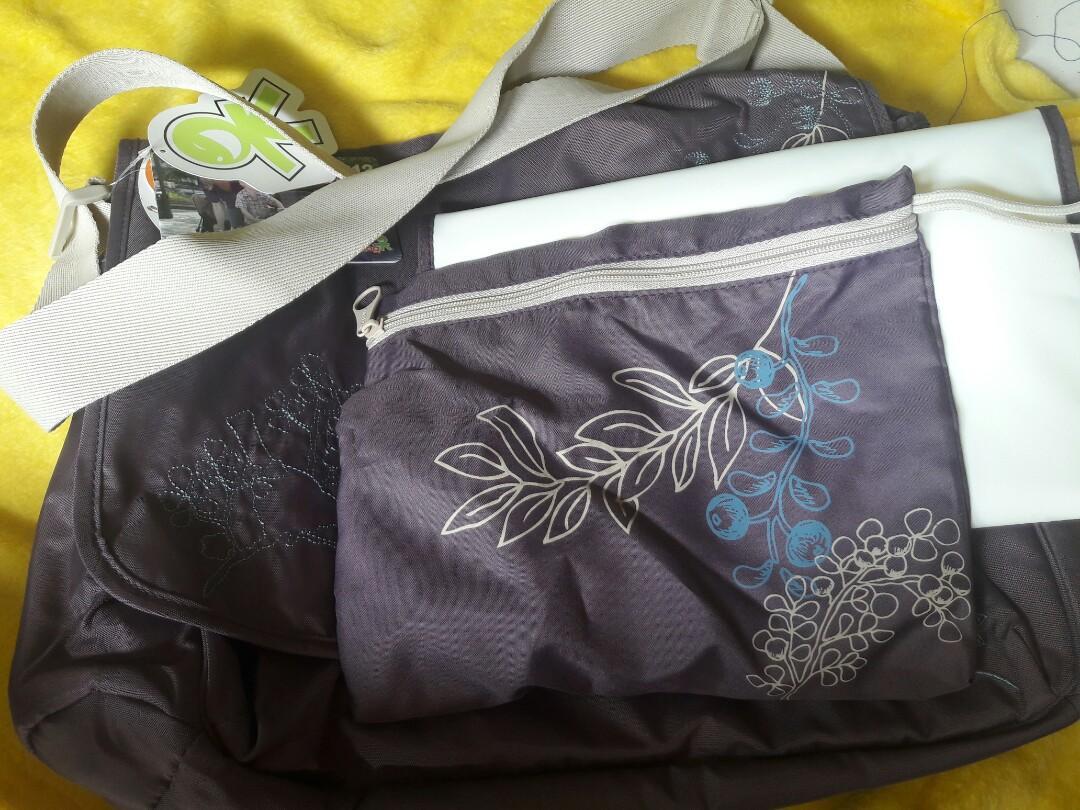 Okiedog 27120 Sidamo Cupid Flint Diaper Bag