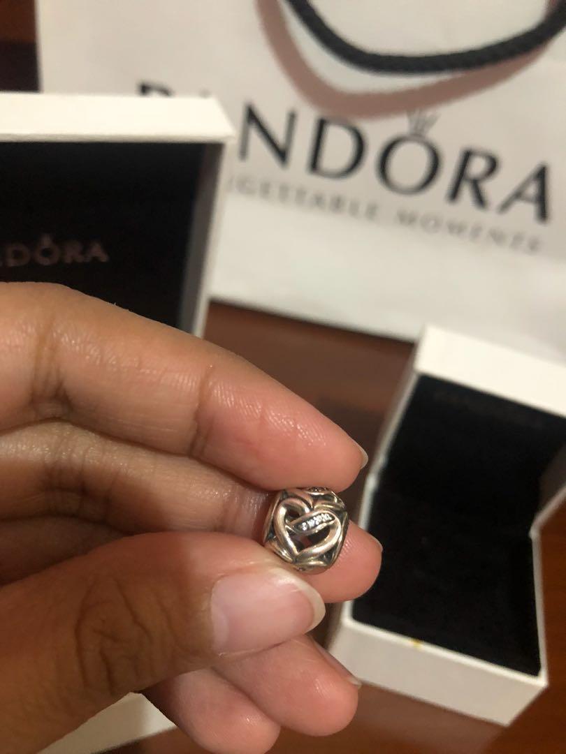 30367fc09 Pandora Ribbon of Love charm on Carousell