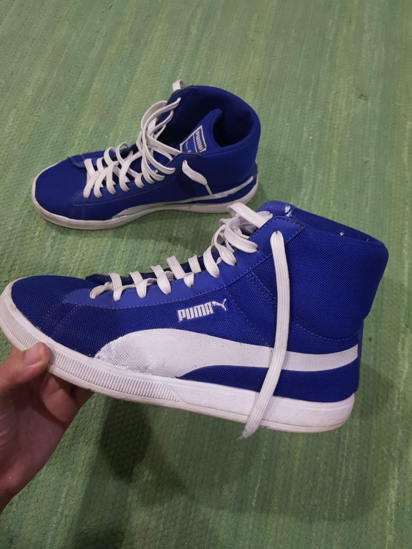 best puma high tops blue 41a3c 235c9