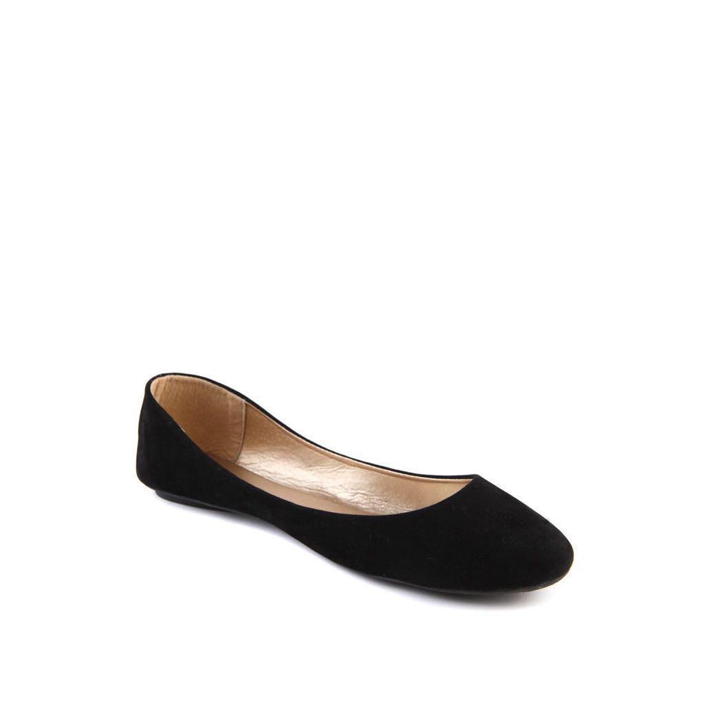 RUBI Simple, Formal Black Flats, Women