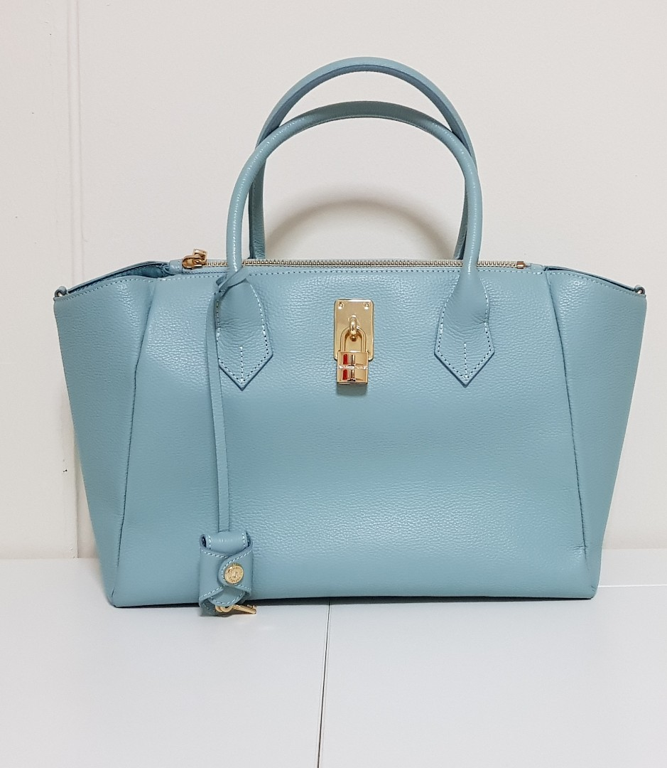 dda5851d5 Samantha Thavasa Handbag / Shoulder Bag in Teal, Women's Fashion ...