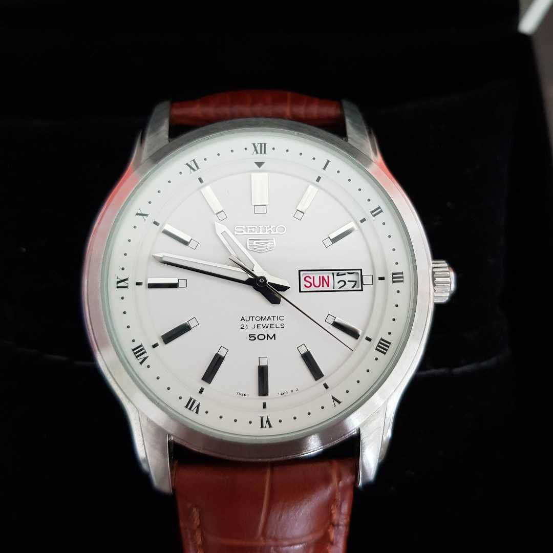 46b322c27 Seiko 5 Men's Classic Automatic Watch SNKP09K1 with Additional ...