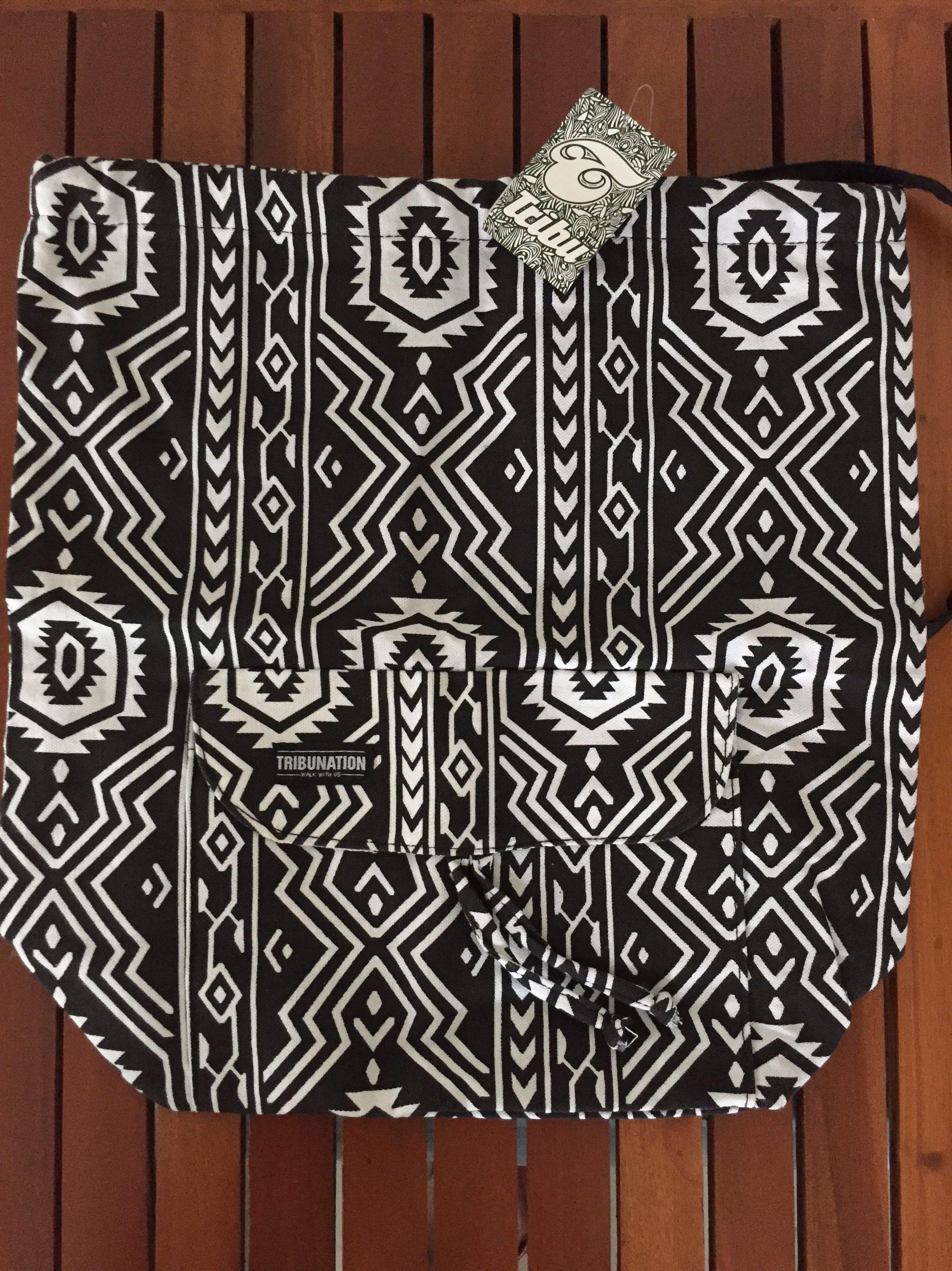 Tribu Ladies Canvas Draw String Bag cac6204e859e2