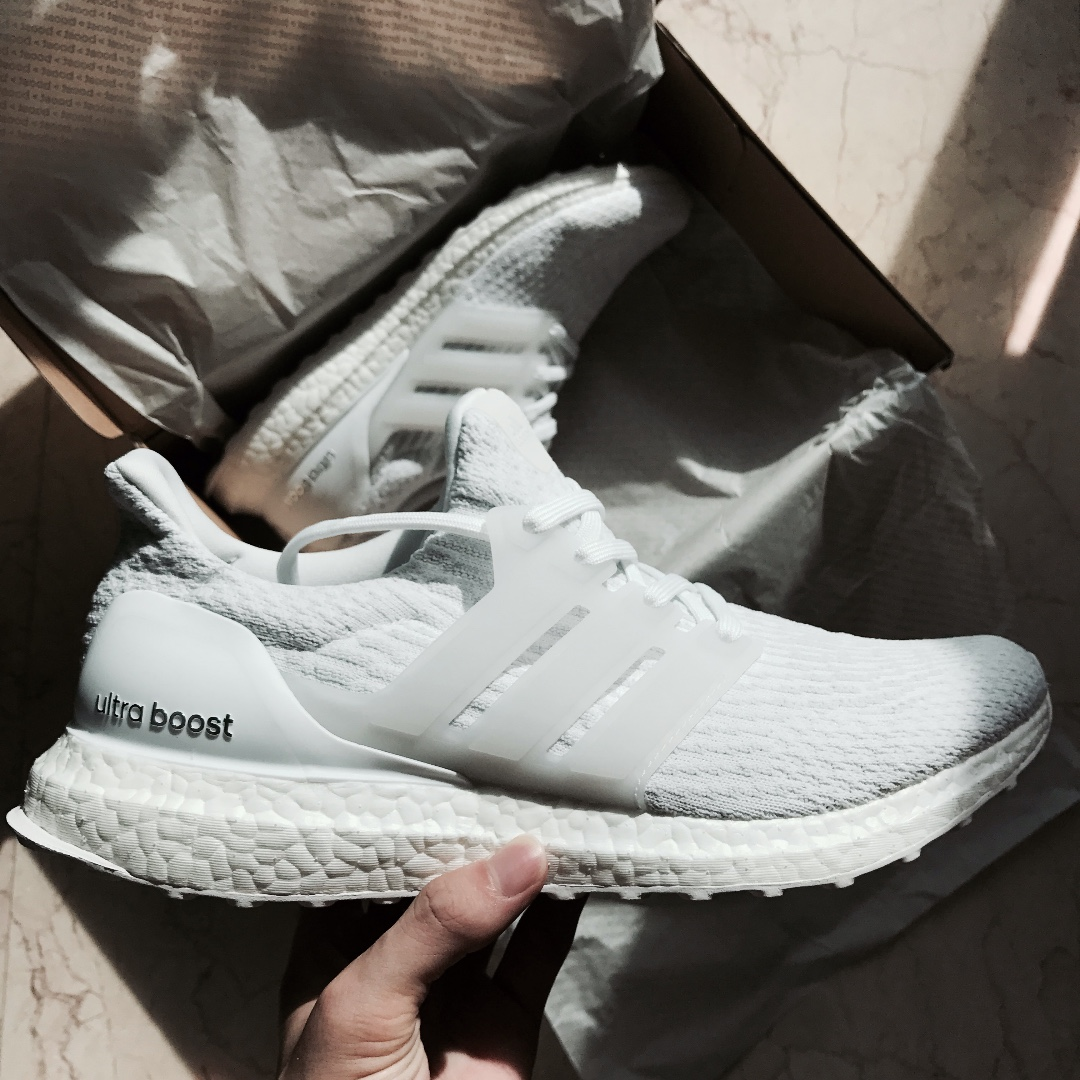 adidas ultra boost triple white 42, Det nyeste jeremy scott