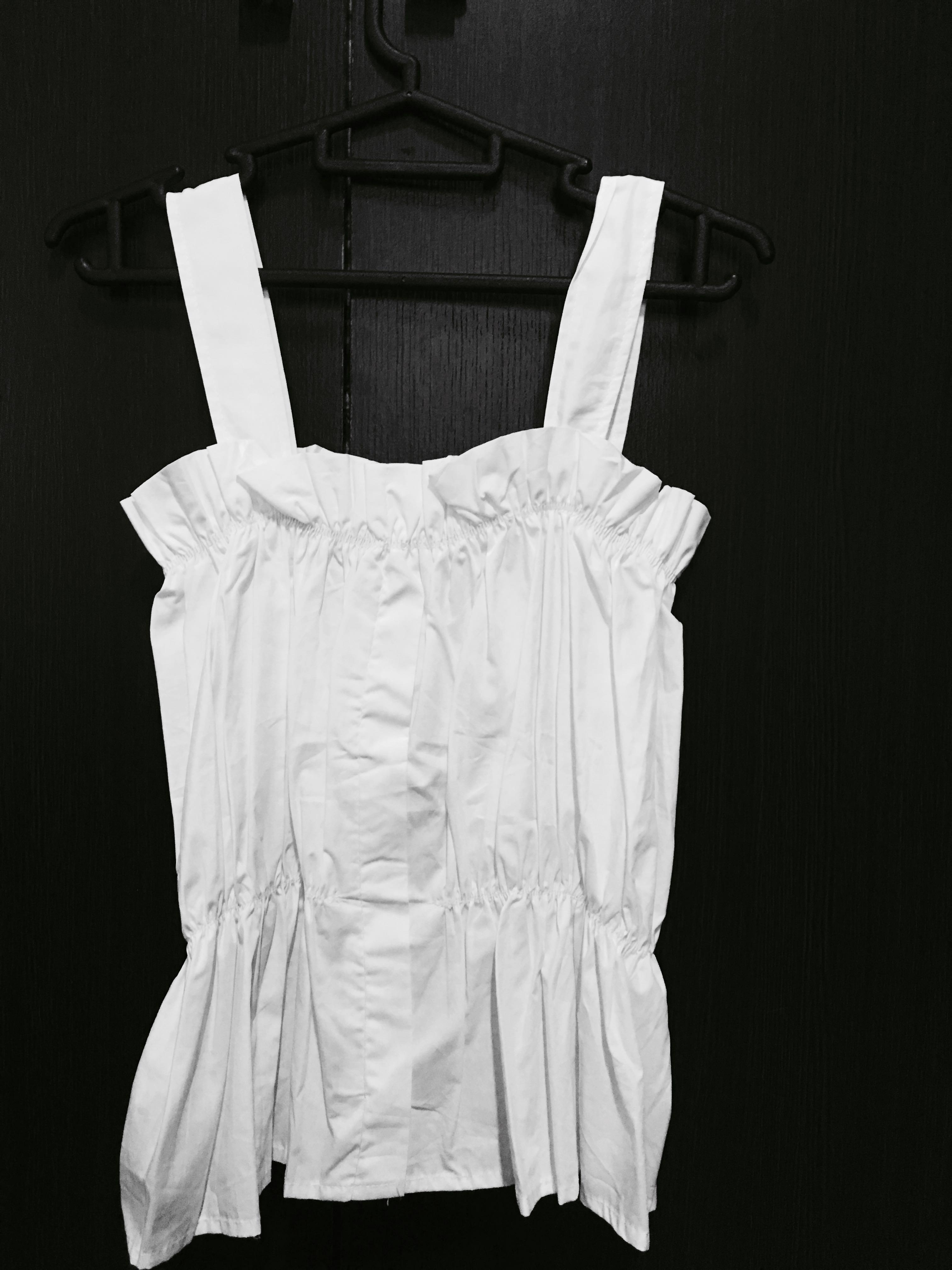 Ulzzang White Camisole TOP 💗