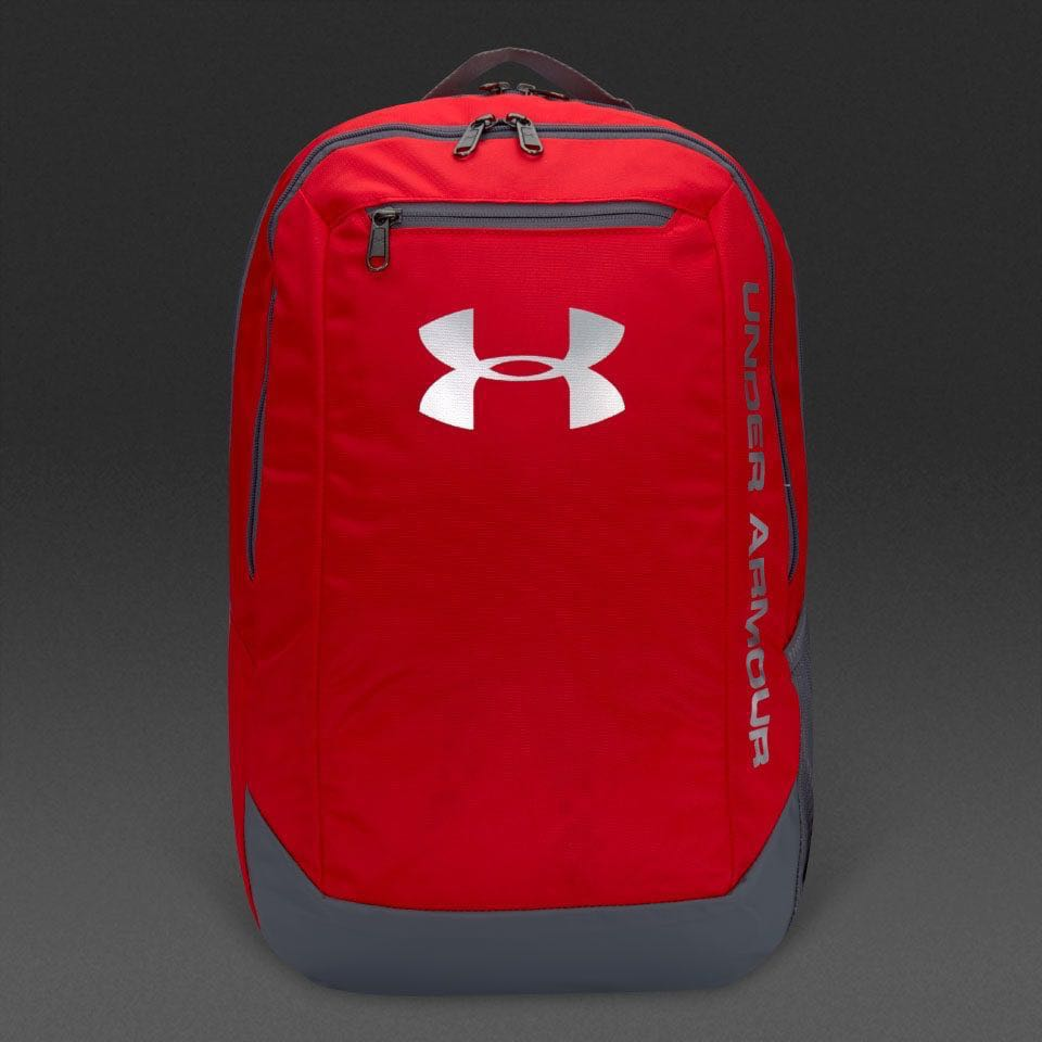 de20d37502 under armour hustle LDWR backpack (red), Women's Fashion, Bags ...