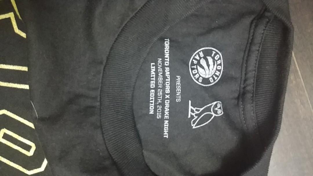 Unworn limited edition Drake Night OVO long sleeve shirt