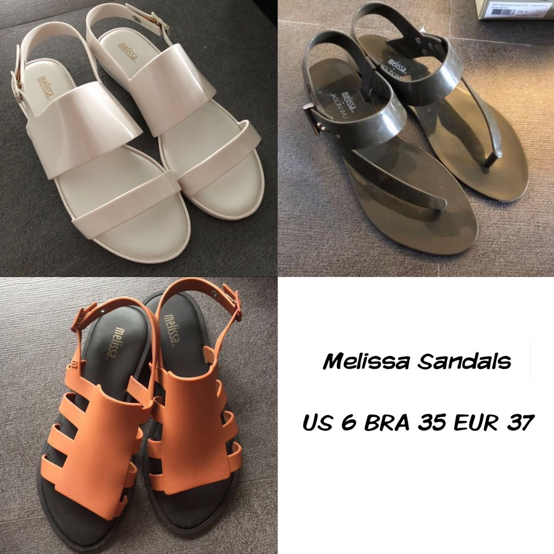 b3a78a250d20 US 6 Melissa Sandals Various Models