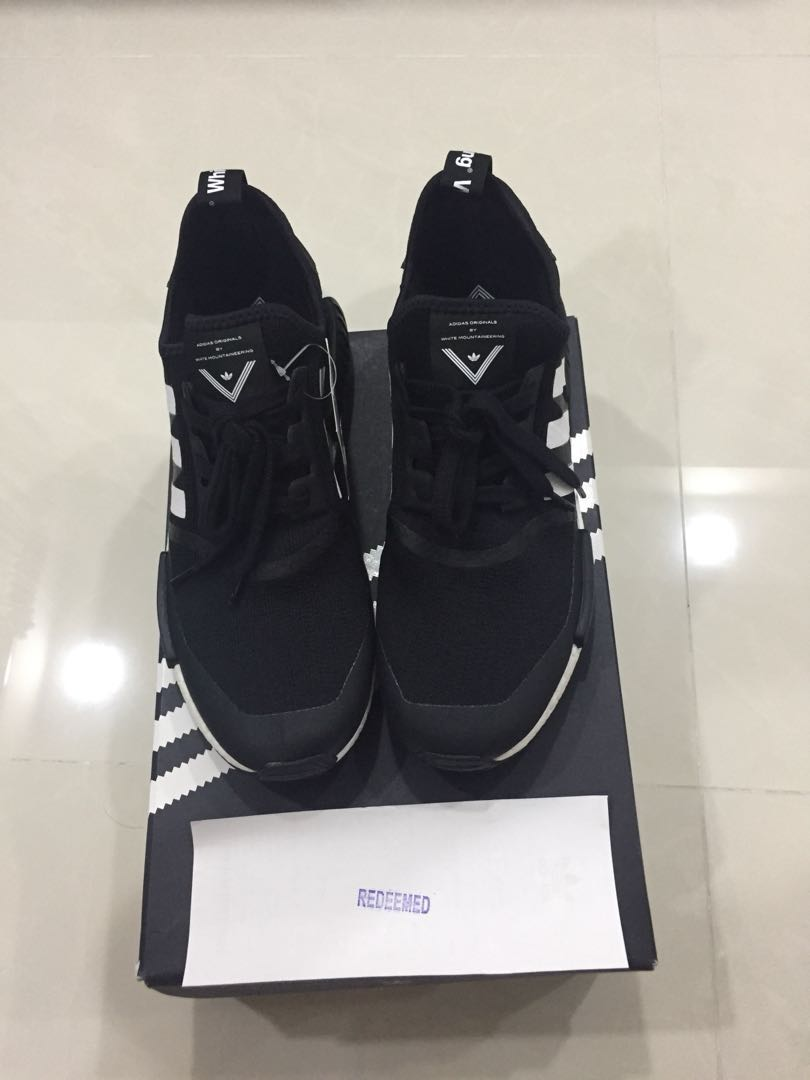 """297e594ee3b VALENTINE SALES"""" US 11 Adidas NMD R1 Trail White Mountaineering Core ..."""
