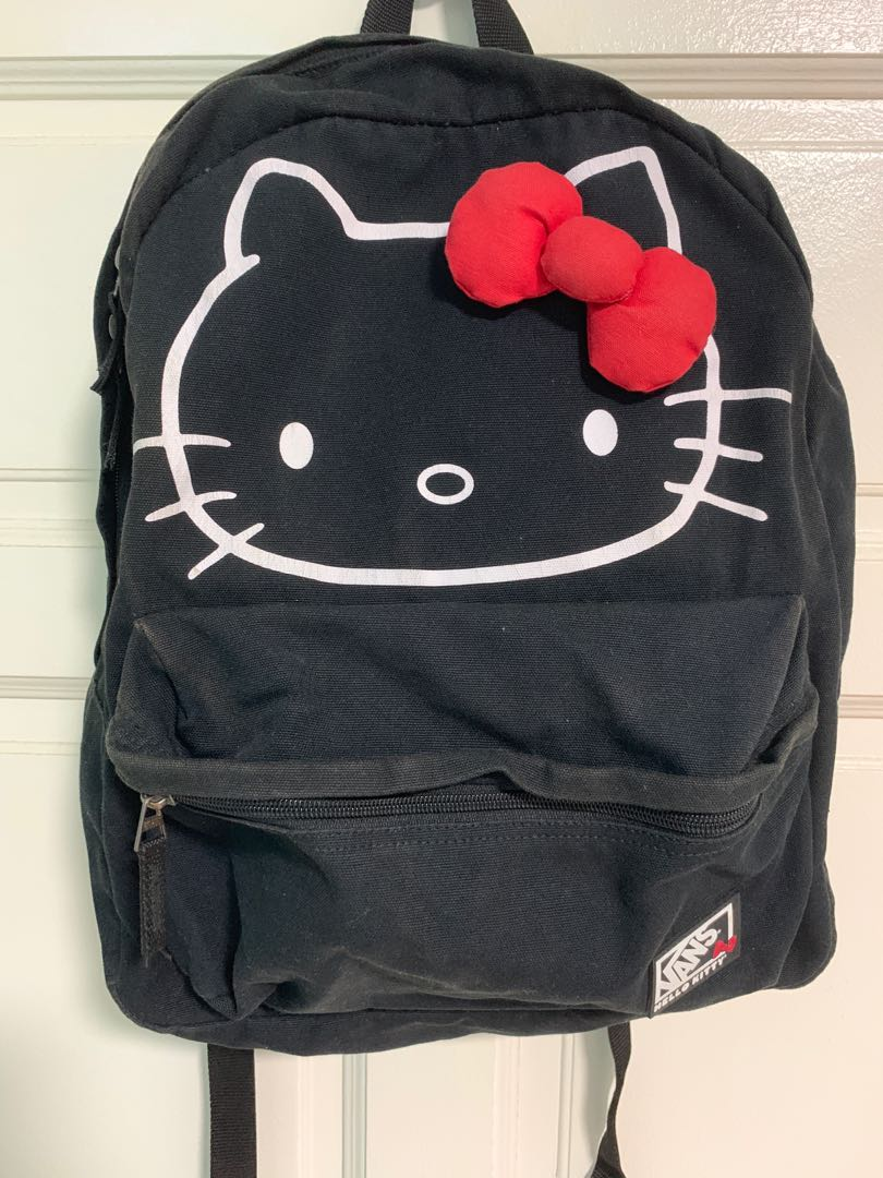 d7fbdb7f9c9 VANS Hello Kitty Backpack, Women's Fashion, Bags & Wallets, Backpacks on  Carousell