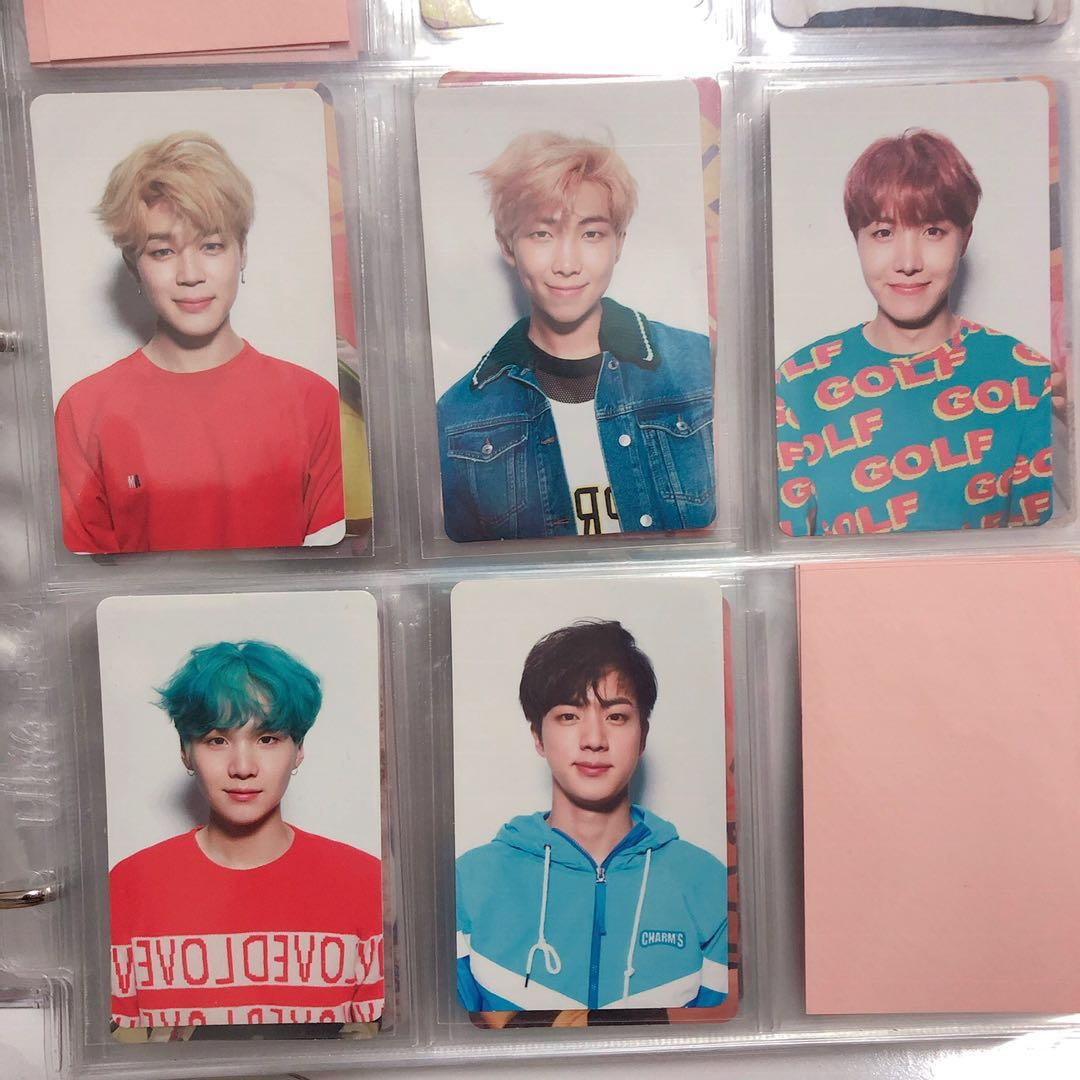 wts bts love yourself her v version photocards 1549802964 b92474b5