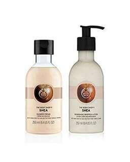 The Body Shop Shea Lotion & Cream Set