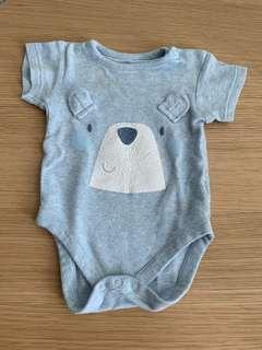 2 pcs Mothercare Bodysuit (3-6 months)