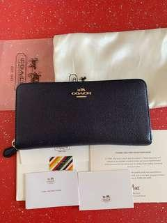 Authentic used COACH Long wallet