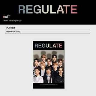 [WTS] NCT 127 Regulate Poster