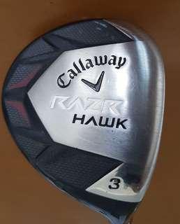 Callaway RAZR Hawk 3 wood (right hand)