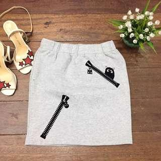 Korean A Line Skirt