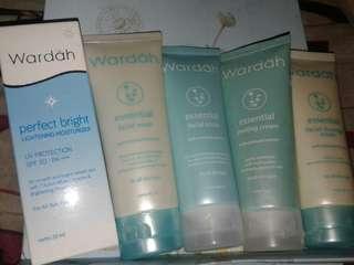 BARTER /TAKE ALL PAKET HEMAT skin care wardah