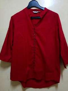 Blouse mnt red