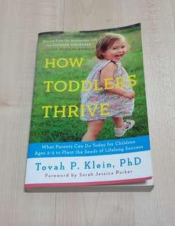 🚚 How toddlers thrive parenting book