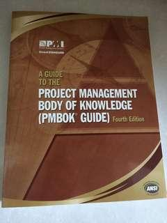 Project Management Book of Knowledge (PMBok)
