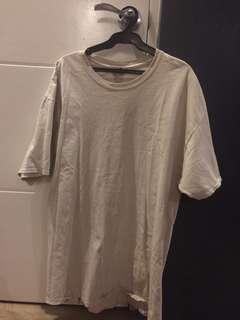 vintage authentic champion shirt (oversized, beige)