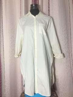 ZARA BASIC long Top/Polo Dress