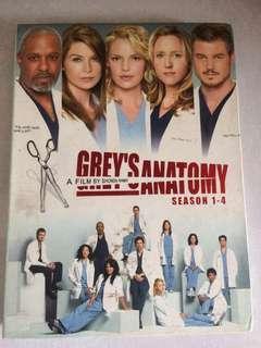 Greys Anatomy Season 1-4