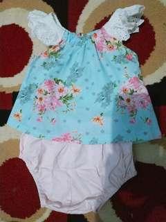 Preloved baju import bayi 1 set