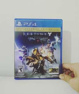 PS4 Game - Destiny - The Taken King