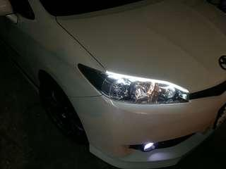 Customized LED daylight eyebrow for all car model
