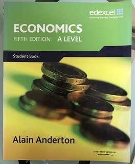 Edexcel A Level Economics textbook
