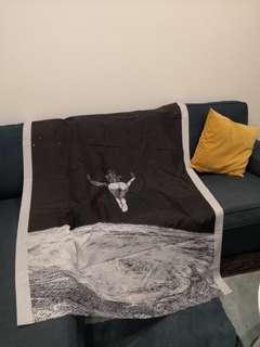 Wall art fabric