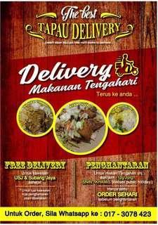 Lunch Delivery for Area Subang Jaya,Usj,Putrajaya,Puchong,Putra Heights,Cyberjaya,Shah Alan
