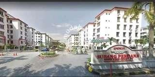Apartment with Condo facilities in Court 10,Usj 14 for sale