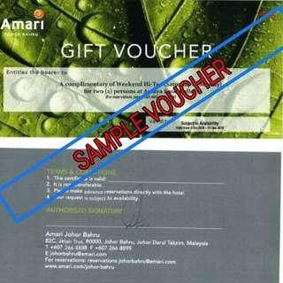 Voucher High tea for 2 at Hotel Amani Johor