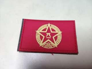 解放軍軍旗背包貼 People's Liberation Army Backpack Sticker