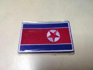 Democratic People's Republic Of Korea(North Korea)Backpack sticker 朝鮮人民民主主義共和國(北韓)背包貼