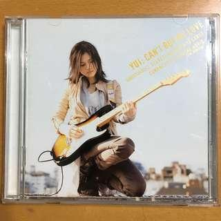 ❗️絕版❗️Yui: can't buy my love CD+DVD