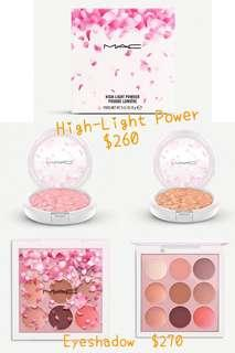 訂購 全新出 Mac 限定貨品 Eyeshadow / Highlight