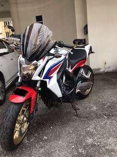 Honda CB650F like new2016