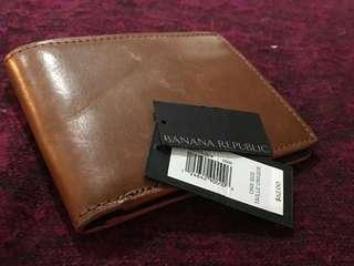 Leather wallet Banana Republic