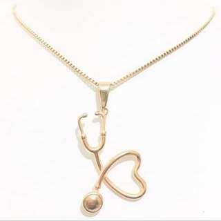 Hypoallergenic Stethoscope Necklace
