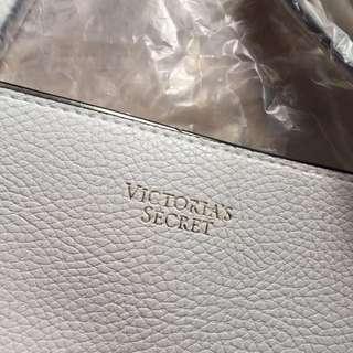 Victoria's Secret tote bag white .