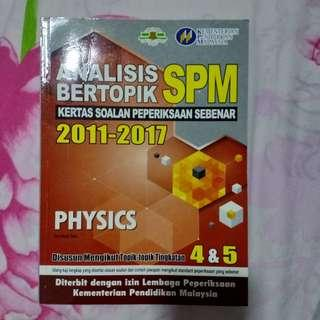 SPM Physics Past Year Exercise Book