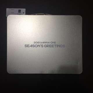 2019 Wanna One Season's Greetings (Tin case)