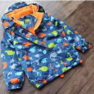 BNWT German brand Topolino fleece-lined jacket/wind breaker